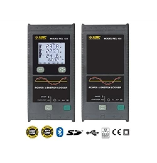 Analisador de qualidade de energia AEMC Modelos PEL-102 e PEL-103