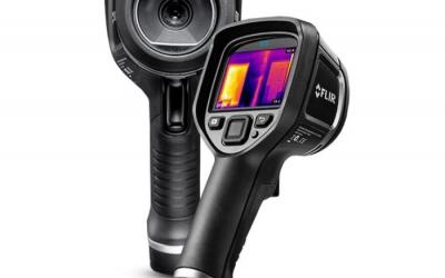 Câmera de Infravermelho Flir modelo E5-XT - Termovisor