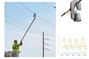 Registrador de Corrente Sensorlink modelo Amcorder 6-920