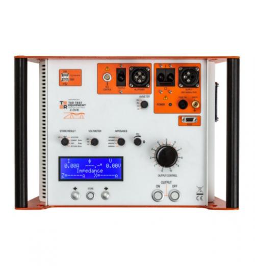 Sistema de teste de impedância de cabos T&R modelo Z-OVR