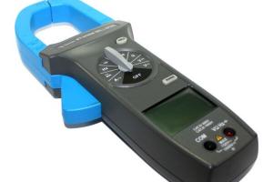 Alicate Amperímetro Minipa modelo ET-3702A