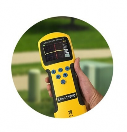 Localizador de falhas em cabos Radiodetection modelo LexxiT1660
