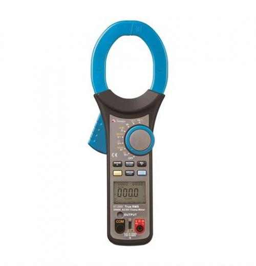 Alicate Amperimetro ET-3990 Minipa True RMS AC/ AC+DC e medidas Inrush