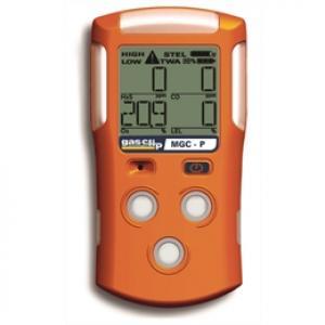 Detector de 4 Gases, LEL-O2-CO-H2S, Com Sensor Pellistor Gas Clip Modelo MGC-P