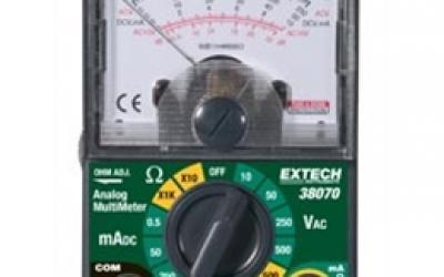 Multímetro analógico compacto Modelo 38070 - EXTECH
