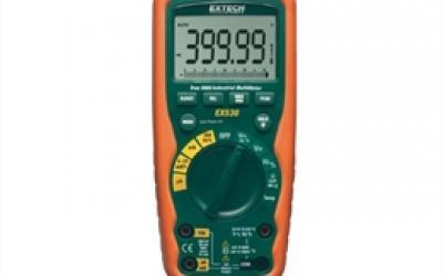 Multímetro industrial true RMS para serviços pesados com 11 funções EX-530