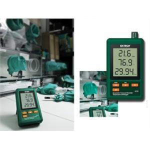 Registrador de pressão barométrica umidade temperatura Extech modelo SD700