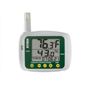 Registrador de dados de temperatura e umidade Extech modelo 42280
