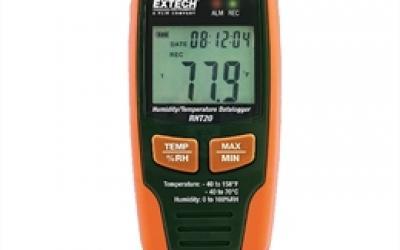 Registrador de dados de umidade e temperatura Extech modelo RHT-20