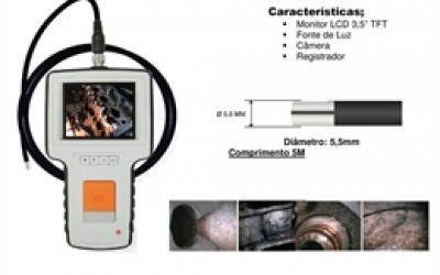 Sonda de fibra ótica com monitor CG-55100