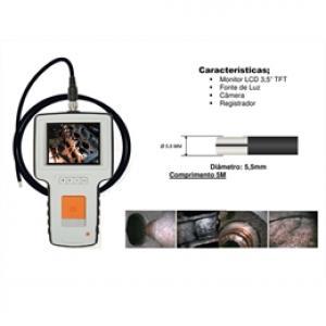Sonda de fibra ótica com monitor modelo CG-5550