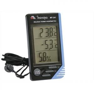 Termo-higrometro Temperatura Interno e externo Minipa modelo MT-241