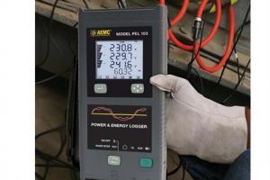 Analisador de qualidade de energia Modelos PEL-102 e PEL-103 AEMC