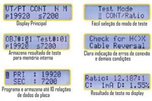 Medidor de Relação de Transformação AEMC Modelo DTR-8510