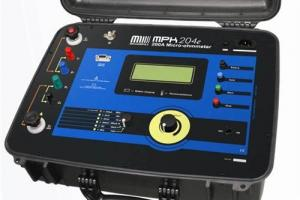 Microhmímetro até 200A Megabras modelo MPK-204e