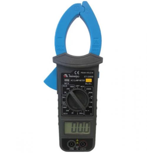 Alicate Amperímetro Industrial Minipa modelo ET-3200B