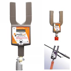 Medidor de Qualidade de Energia Rede Energizada Sensorlink Qualstik 8-061XT Plus