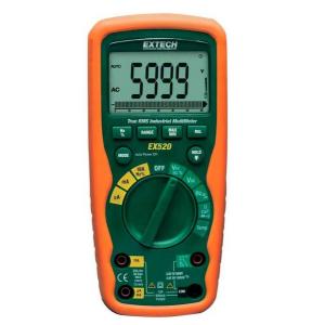 Multímetro Industrial True RMS Extech modelo EX520