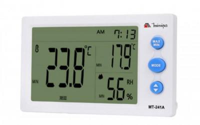 Relógio Termo-higrometro Minipa modelo MT-241A