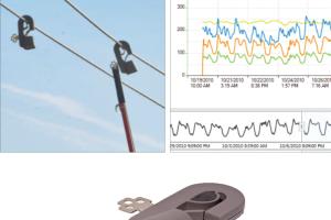 Registrador de Corrente, Fator de Potência e Potência Reativa Marca Sensorlink  Modelo Varcorder 6-910-3