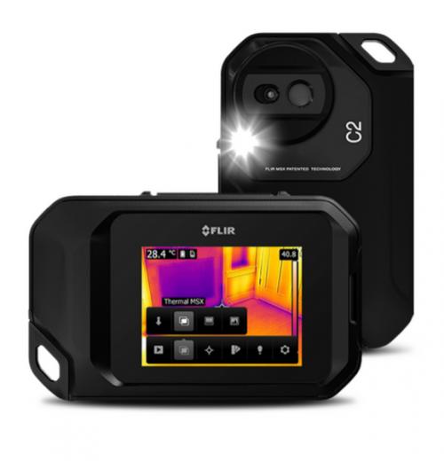 Câmera Termográfica compacta Flir modelo C2 - Termovisor