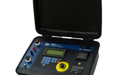 Microhmímetro até 100A Megabras modelo MPK-105x