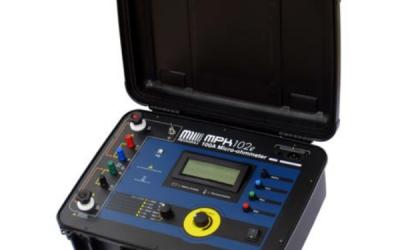Microhmímetro até 100A Megabras modelo MPK-102e