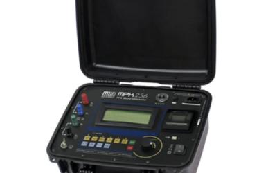 Microhmímetro até 10A Megabrás modelo MPK-256
