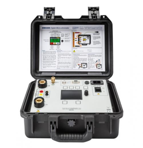 Microhmímetro até 200A T&R modelo DMO200